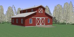Monitor barn plans for Small monitor barn