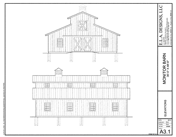 Monitor barn plans designs joy studio design gallery for Monitor style barn plans